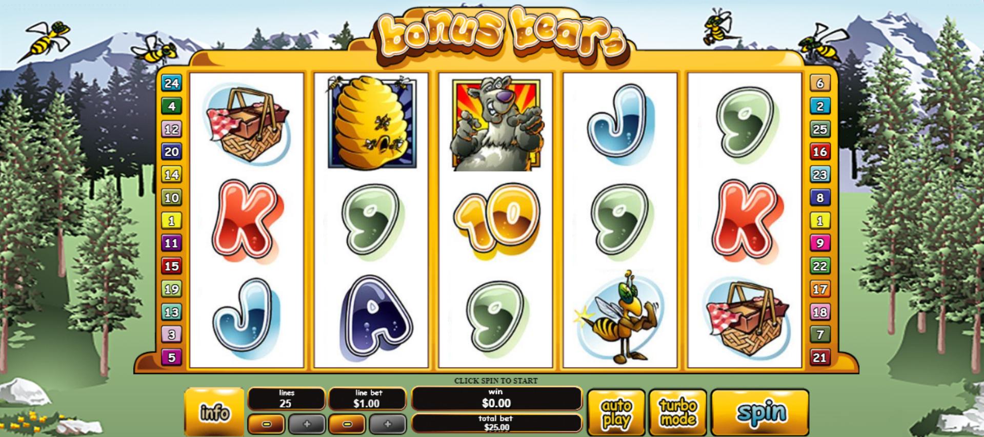 Bonus Bears Slot Online (2)