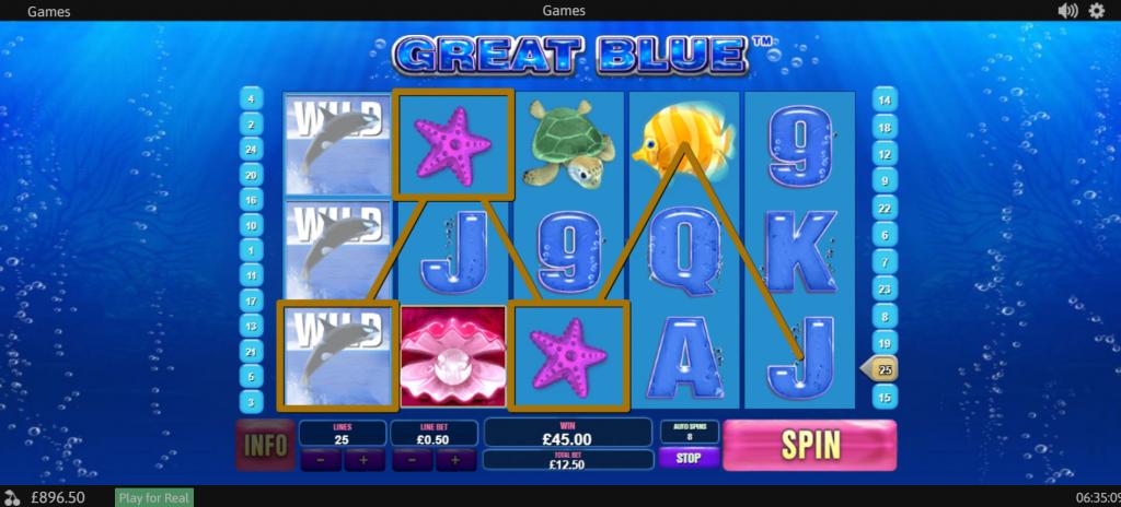 Great Blue Slot Online (2)