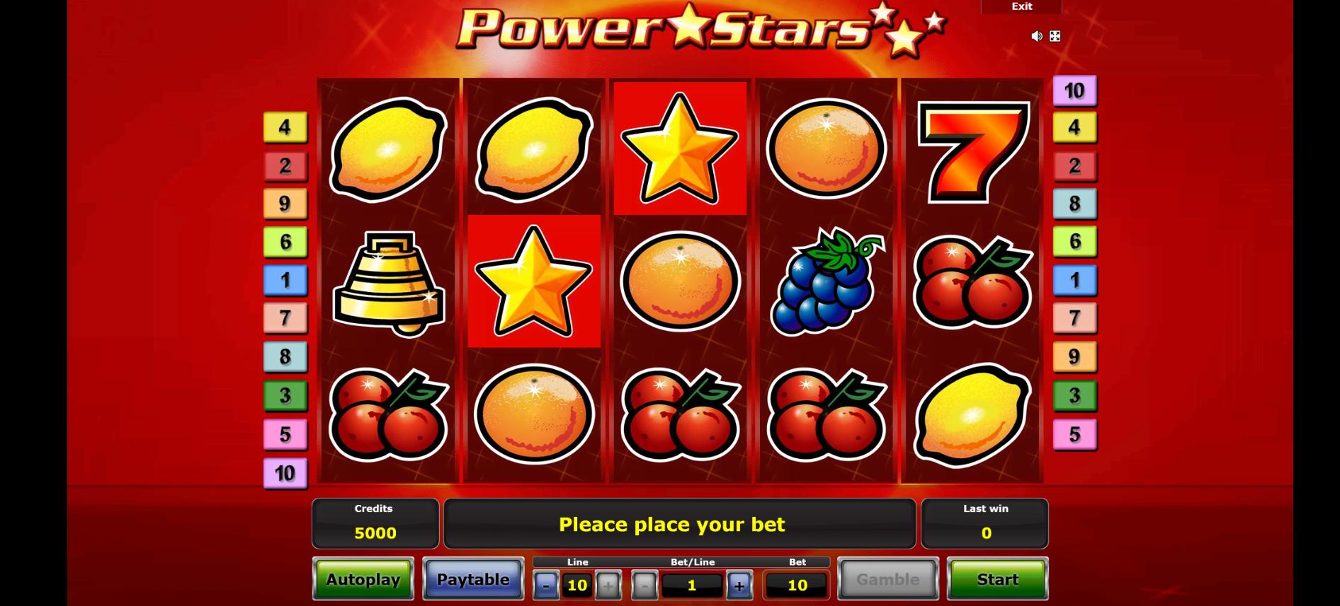 Power Stars Slot Online (1)