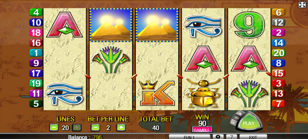 Queen of the Nile Slot Online (2)