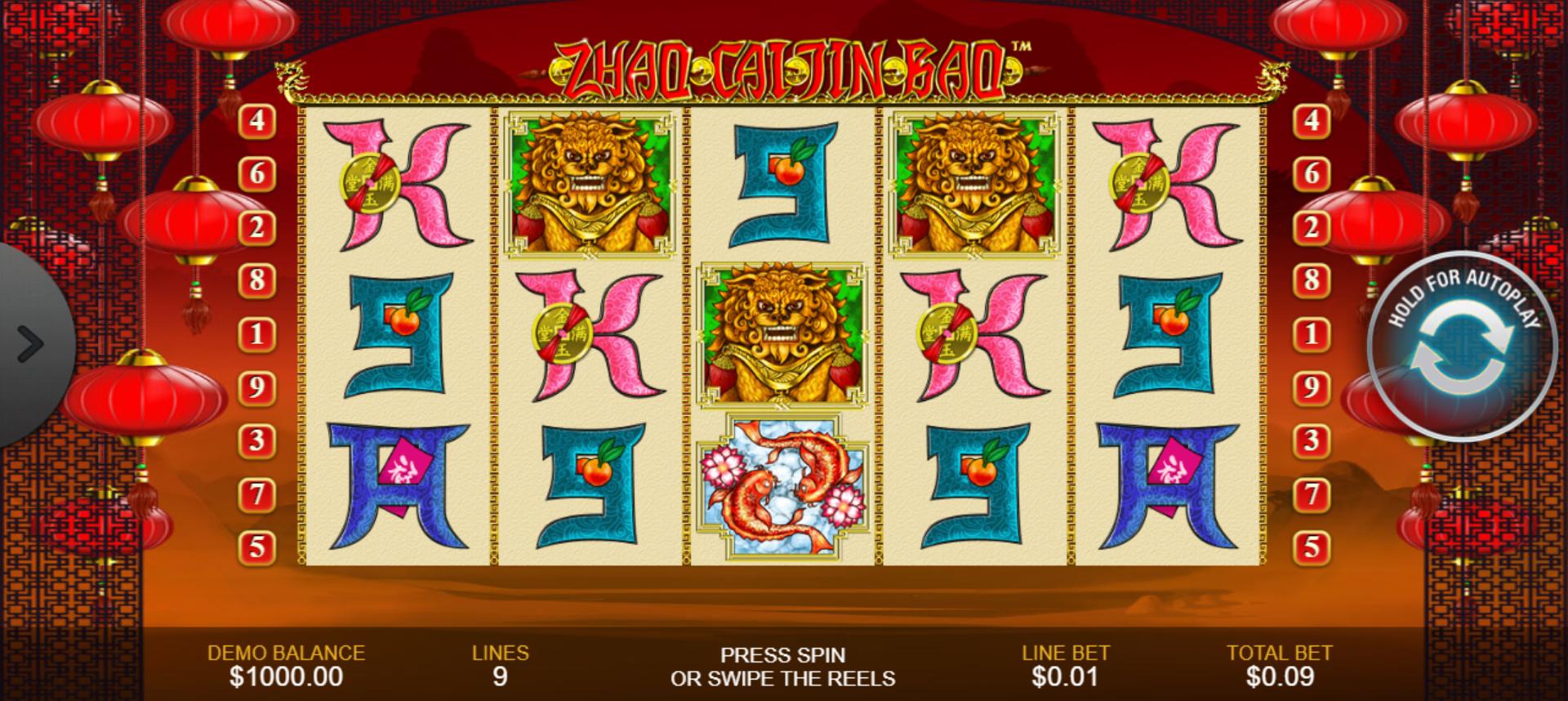 Zhao Cai Jin Bao Slot Online (1)