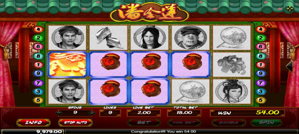 Pan Jin Lian Slot Online (2)